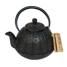 for mama ~ Cast Iron Teapot (largest available for cookstove)