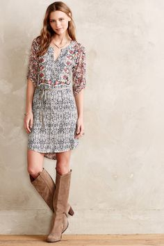 Perenne Shirtdress - anthropologie.com