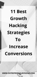 11 Best Growth Hacking Strategies: To Increase Conversions & ROI Tips Online, Online Jobs, Digital Marketing Strategy, Marketing Strategies, Growth Hacking, Competitor Analysis, Business Advice, Blog Tips, Internet Marketing