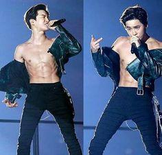 shirtless suho is everything Chanyeol Baekhyun, Exo Kai, Sehun Hot, K Pop, Kim Joon Myeon, Surfer Boys, Kim Minseok, Xiuchen, Kpop Exo
