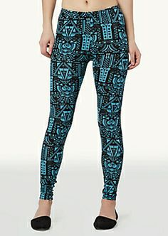 75675eba1f3cd Girls Printed, Patterned & Color Leggings | rue21 Colorful Leggings, Rue 21,  Tight