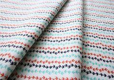 Cloud9 Fabrics Tsuru Making Tracks Ivory