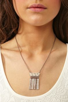 Empire Fringe Necklace