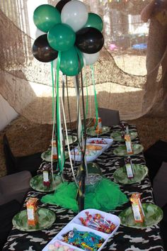 Boys Party Themes | Army