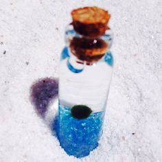 A personal favorite from my Etsy shop https://www.etsy.com/listing/236621112/blue-tranquility-marimo-moss-ball-vial