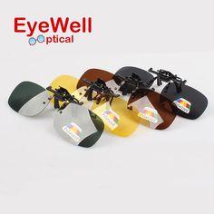 Popular Polarized Lenses Flip Up Clip On Sunglasses Driving Glasses Night Vision For Men Women High Quality  Polarization Lens