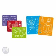 Jumbo Stencils Pack of 4 Kids Art Craft Drawing NEW Set   Toys - From Green Ant Toys Online Toy Store www.greenanttoys.com.au #toys #kidsart #craft