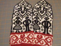 Ravelry: Wedding Mittens pattern by Jorid Linvik