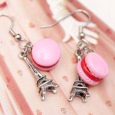 macaron earrings