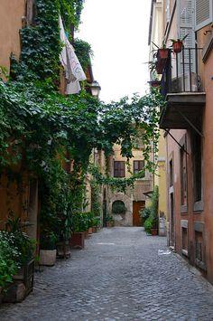 Trastevere, my old neighborhood.