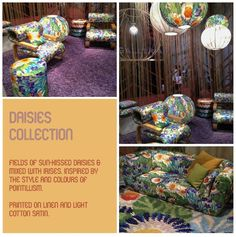 Emerald Green Interiors Missoni Home Daisies collection