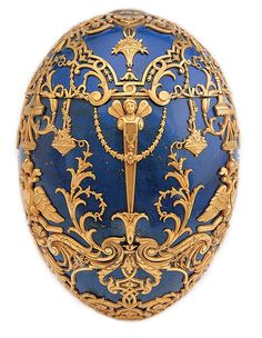 Tsarevich Fabergé Egg, one of the Imperial eggs.