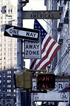 Sixth Avenue, Manhattan, NYC