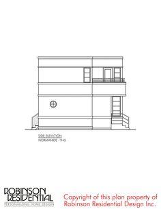 Contemporary Normandie-945 Modern Bungalow House, Bungalow House Plans, Dream House Plans, Small House Plans, House Floor Plans, Home Map Design, House Design Photos, House Construction Plan, Model House Plan