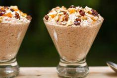 Carrot Cake Raw Buckwheat Porridge (Gluten-free & Raw) - Best breakfast Eva
