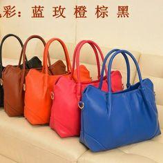 Free Shipping Women Leather Handbags Women Totes Bags Brand Designer Women Bags Stars Style Hot Sale $28.00