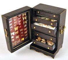 how to: collector's specimen cabinet  this pinners board (Tutorials - Furniture 3) is absolute fantastic.
