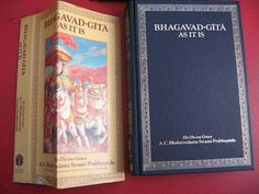 BhagavadGita As It Is Book by His Divine Grace A C by twysp2, $15.00