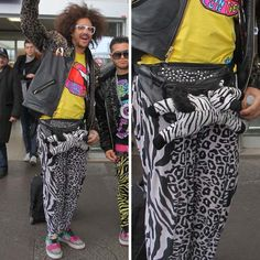 RedFoo with the Animal Fanny Pack