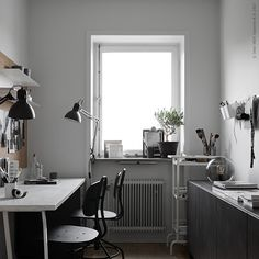 A Nice Home Office Makeover by IKEA Stylists