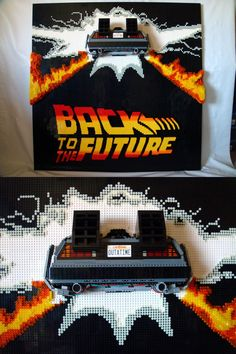 Back to the Future #BTTF #LEGO