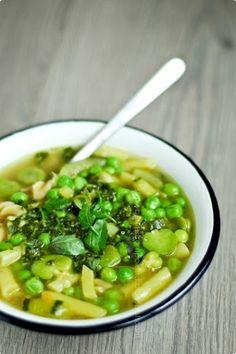 Soupe au pistou - zupa z pesto