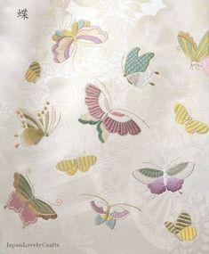 Beautiful Patterns of Japanese Embroidery by JapanLovelyCrafts