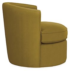Otis Swivel Chair - - Modern Living Room Furniture - Room & Board Mixed Dining Chairs, Round Back Dining Chairs, Living Room Chairs, Lounge Chairs, Office Chairs, Upholstered Swivel Chairs, Chair And Ottoman, Modern Room, Modern Chairs