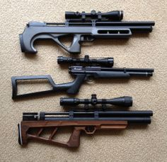 Here it is next to an Edgun Matador and Benjamin Marauder Pistol.