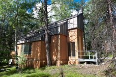 The Gerin-Lajoie Studio   (for visual artists) Exterior - Leighton Artists' Colony at The Banff Centre