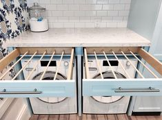 Laundry Room Layouts, Laundry Room Remodel, Small Laundry Rooms, Laundry In Bathroom, Laundry Shoot, Laundry Room Drying Rack, Laundry Closet, Laundry Room Organization, Clothes Drying Racks