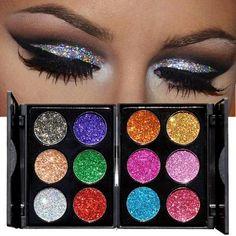 Fairy Dust Diamond Glitter Eye Shadow Palette