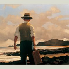 "Quite possibly my favourite image - by the brilliant Jack Vettriano ""The Drifter"""