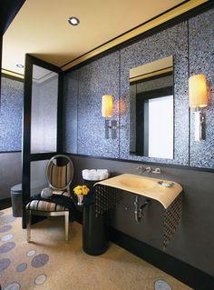 Modern Powder Room Design Ideas | InteriorHolic.com