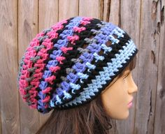 No Free Pattern. You Can Buy Pattern. Crocheted Hat.