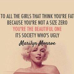 Fb.com/CoachKatie IG:@katielynnrosenberg #beachbody #coach #quote #marilynmonroe