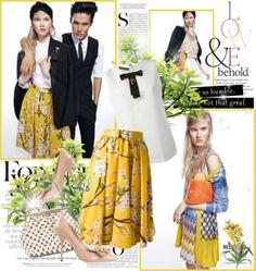 """Dolce & Gabbana spring 2014"" by mrekulli on Polyvore"