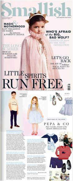 Pepa & Co in Smallish Magazine