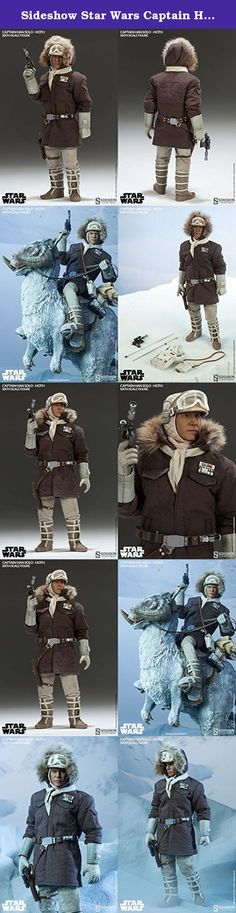 """Sideshow Star Wars Captain Han Solo - Hoth 1/6 Scale 12"""" Figure. """"I'll take a good fight any day over all this hidin' and freezin'!"""" From Star Wars Episode V: The Empire Strikes Back, relive your favorite moments leading up to the Battle of Hoth with the Sideshow Collectibles Captain Han Solo - Hoth Sixth Scale Figure. On the run and with a price on his head, the intergalactic smuggler Han Solo joins the Rebel Alliance at their remote secret location on Hoth, Echo Base. Dressed for the..."""