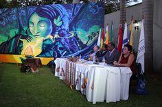 Mesa de panelistas en el Día Internacional de La Madre Tierra