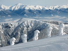 West Tatras from Chopok, Jasná - Chopok, Slovakia