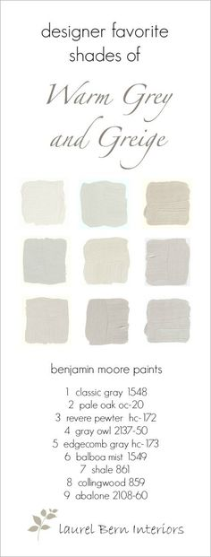 Nine Fabulous Benjamin Moore Warm Gray Paint Colors   laurel home    Interiors InspiredThe Best Neutral Paint Colors   Neutral paint colors  Neutral  . Great Neutral Paint Colors Benjamin Moore. Home Design Ideas
