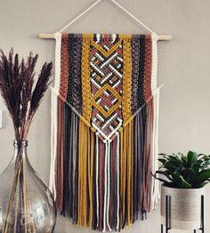 Macrame Art, Diys, Wall Decor, Crafts, Interior, Tutorials, Home Decor, House, Embroidery
