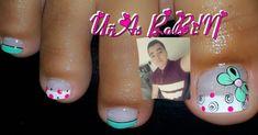 La imagen puede contener: una persona, primer plano Cute Pedicure Designs, Nail Designs, Cute Pedicures, Nails, Robin, Instagram Posts, Polish Nails, Pretty Toe Nails, Simple Toe Nails