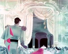 Concept art for Disney's Cinderella, 1950
