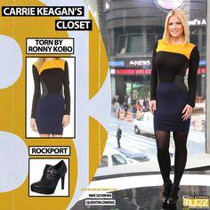 Dress: Torn by Ronny Kobo - $298 Similar boot: Rockport Women's Janae Monk Strap Ankle Boot - $160