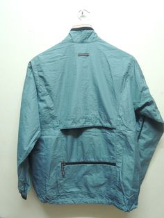 "#Vintage 90's Windbreaker #Nike Fully Zipper Sport Bomber Jacket Sweatshirt #Sweater Size S  Measurement : Armpit to armpit = 21"" Shoulder to end of garment = 25.5"" Size : S M... #retro #sale #vintage #preloved #preused #sweater #nike"