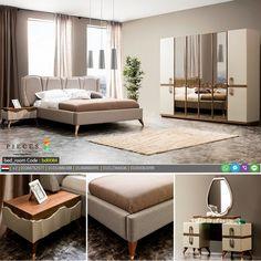 افخم غرف نوم مودرن 2019 - لوكشين ديزين . نت Modern Furniture Stores