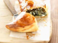 Découvrez la recette Chausson épinard et chèvre sur cuisineactuelle.fr.