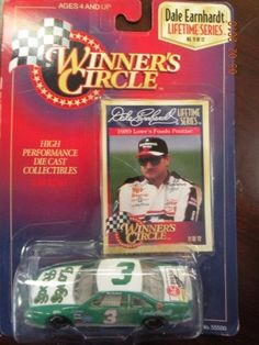 DALE EARNHARDT Lifetime Series * 1989 Lowe's Foods Pontiac 1/64 replica * #11 of 12 High Performance Die CAST Collectible & RARE Limited Trading Card * Green & White family owned vehicle VHTF by NASCAR. $11.33. NEW
